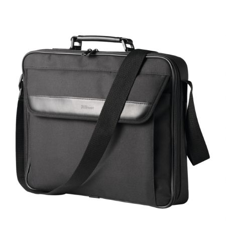 "Trust Atlanta 17.3"" 17.3"" Briefcase Black"