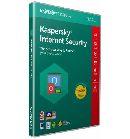 Kaspersky Internet Security 2020 (3 Devices, 1 Year) - Activation Code in Standard packing