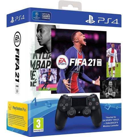 EA Sports Fifa 21 DualShock 4 Wireless Controller Bundle (PS4)