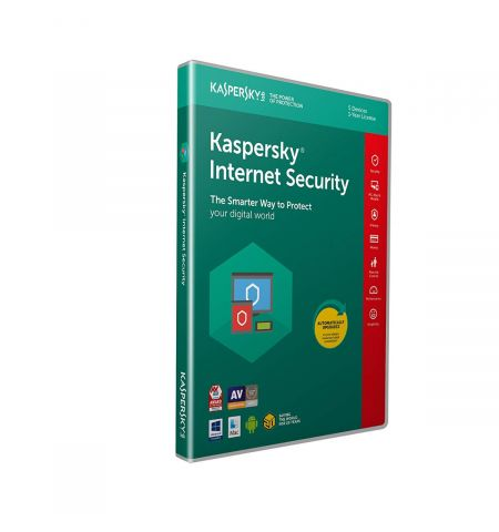 Kaspersky Internet Security 2020 | 5 Devices | 1 Year | PC/Mac/Android | Activation Code in Standard Packaging