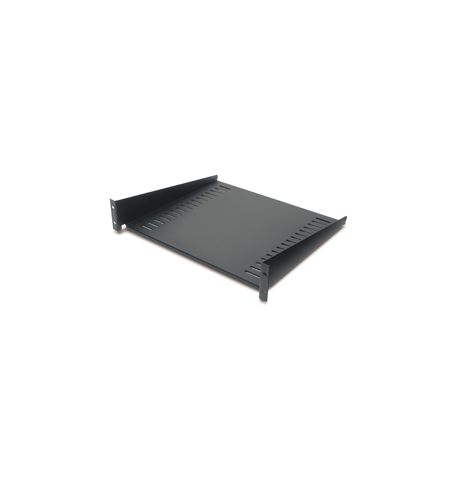 "APC 19"" Fixed Rack Shelf 50lbs/22.7k blk"