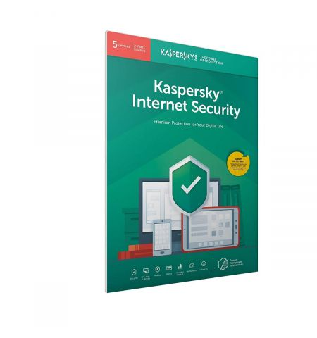 Kaspersky Internet Security 2020 | 5 Devices | 2 Years | PC/Mac/Android | Activation Code by Post