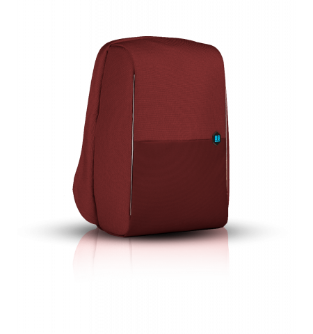"Laptop Backpack MetroBag The Anti-Theft & RFID Protection Backpack 17"" - Burgundy"
