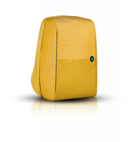 "Laptop Backpack MetroBag The Anti-Theft & RFID Protection Backpack 17"" - Mustard"
