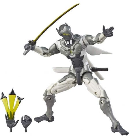 Overwatch – Ultimates Chrome Genji, Multicoloured (Hasbro E7391EU4)