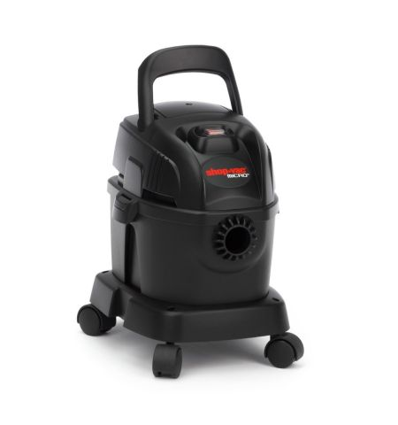 Shop Vac 2020524 Micro Portable Wet-Dry Vacuum Cleaner, 4 Litre, 1100 W, Black