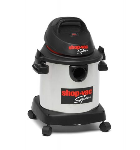 Shop Vac 5973224 Super Stainless Steel Vacuum Cleaner, 20 Litre, 1400 W, Silver
