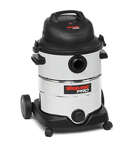 Shop Vac 9273424 Pro Vacuum Cleaner, Plastic, 1800 W, 40 liters, Silver