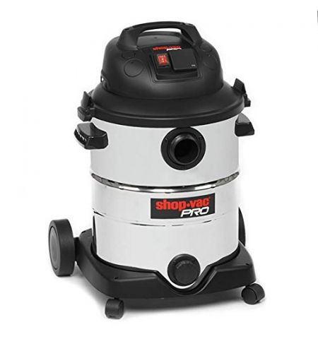 Shop Vac 9274424 Pro Synchro Vacuum Cleaner, Stainless Steel, 1800 W, 40 liters, Silver