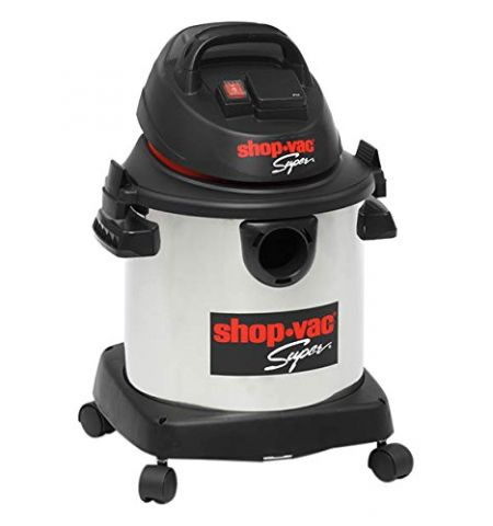 Shop Vac 5974424 Super Synchro Stainless Steel Vacuum Cleaner, 30 Litre, 1400 W, Silver