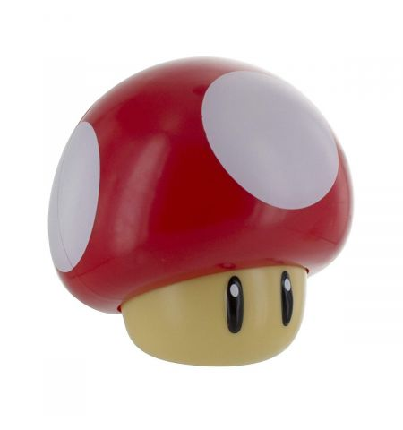 Super Mario Mushroom Light & Classic Game Sound | Push Down Turn On & Plays Mushroom Sound | Perfect Night Light For Kids | Desks , Shelves , Table Top | Soothing Moodlight | Retro & Iconic Lighting